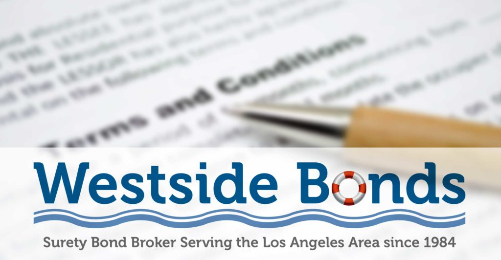 Westside Bonds in Los Angeles | 11321 Iowa Ave.,Los Angeles, CA. 90025 - (310) 479-1250